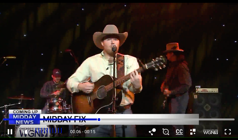 Wynn Williams Performs on WGN